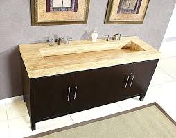 sink on top of counter vanity with sink top tiled mounted double bathroom in double vanity