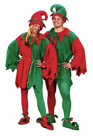 elegant elf costume for women and men be santa s