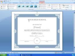 Watch Certificate Template Ms Word 2007 Photo Pic Resume
