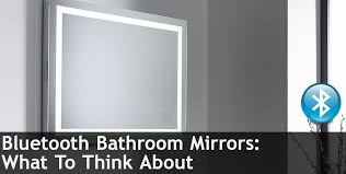 Bluetooth Bathroom Mirrors What To Think About — BuyCleverStuff