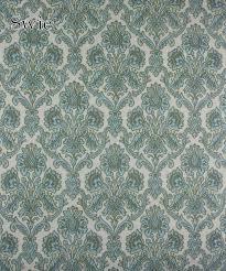 Blauw Barok Behang