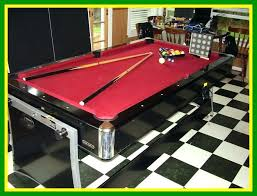 pool table air hockey ping pong combo unbelievable