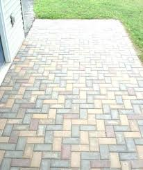 Herringbone Pattern Pavers Extraordinary Herringbone Laying Brick Pattern Paver Patio Tile Floor Instructions