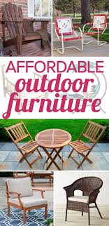 affordable outdoor furniture. outdoor furniture can be so expensive but there is some affordable out r