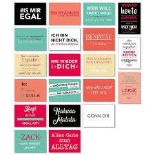 20 Postkarten Mit Sprüchen Spruch Karten Set Lustig