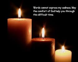Candle Light Condolence 100 Sympathy Quotes That Best Expresses Condolence
