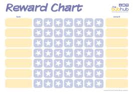 Printable Star Charts Reward Chart Stars Printable Bub Hub