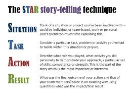 Star Interview Techniques How To Be A Star Performer Bioscience Careers