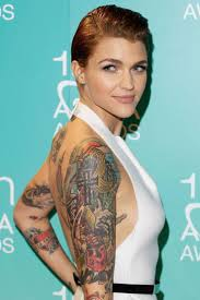 242 best images about Ruby Rose on Pinterest Pixie tattoo MTV.