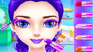 ice princess royal wedding day play princess makeup spa dress up makeover care games for s