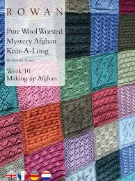 Best 25+ Knitting squares ideas on Pinterest | Knitted squares ... & Pure Wool Worsted Mystery Afghan Knit-A-Long Week 10 Making Up - free Adamdwight.com