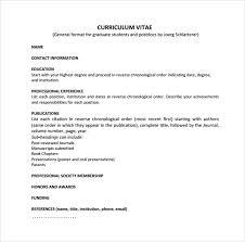 Cv Order Sample Cv 26 Documents In Pdf Word