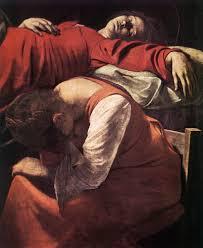 file michelangelo merisi da caravaggio the of the virgin detail