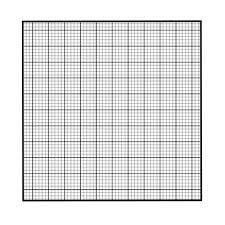Grapg Paper Graph Paper Pocket Square