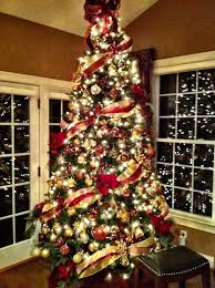 Red Green And Gold Christmas Tree. 20 Amazing Christmas Tree Decoration  Ideas Tutorials Hative