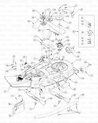 Cub cadet belt diagram awesome cub cadet 1525 13a 221f100 cub cadet lawn tractor mower deck
