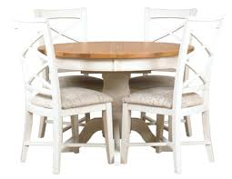 cross back chair dining room table mark painted round extending set with 4 furniture fascinating