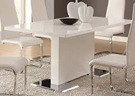 amazon dining table and chairs. glossy white contemporary dining table amazon and chairs b