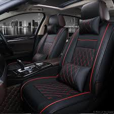 custom car leather seat covers for