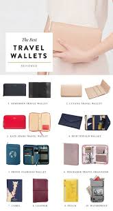 Designer Bus Pass Holder The Best Travel Wallets To Organize Your Vacation Essentials
