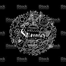 Doodle Design Element Summer Stock Vector Art More Images Of