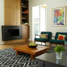 Modern Storage Cabinets For Living Room Danish Modern Ideas Living Room Modern With Blue Rug Modern