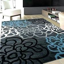 Navy Blue And Grey Area Rug