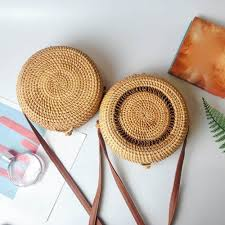 <b>Fashion</b> Explosion 2019 Straw Circle Bags Women Summer ...
