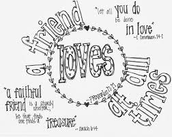 Small Picture Free printable Valentines Coloring Page with Bible verses A