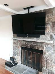 photo smart automation solutions united states ceiling mounted electric fireplace under tv cable box wall above