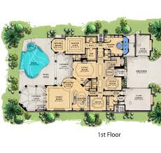 images about House Floorplans on Pinterest   Mediterranean       images about House Floorplans on Pinterest   Mediterranean House Plans  Florida House Plans and House plans