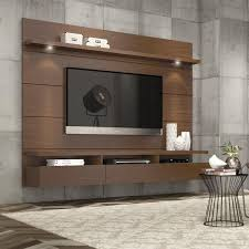 furniture design for tv. cabrini 22 floating wall theater entertainment center in nut brown furniture design for tv e