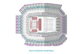 Getting Around Los Seating Charts Lucas Oil Stadium