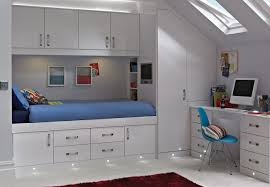 Space Saving For Bedrooms Casia White Space Saver Bedroom