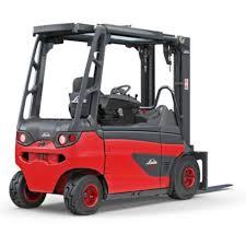 linde electric power forklift truck