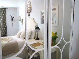 Modern Bedroom Doors Interior Designs Mirrored Closet Doors Ideas For Modern Bedroom