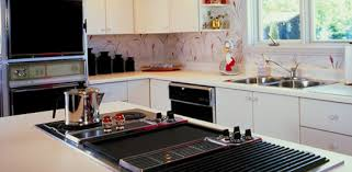 built in stove. Kitchen With Island Cooktop And Built-in Cabinet Range. Built In Stove C