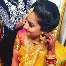 vishakha verma on twitter making of a south indian bride makeup and hair by glam blush for bookings contact 9167263001 bridal makeup