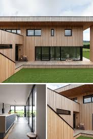 Modernes Architektenhaus Aus Holz Mit Sorpetaler Fenstern