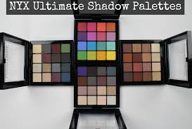 swatches review new nyx ultimate shadow palettes all 4