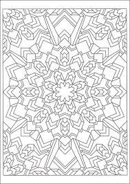 Small Picture Mandala Techellations Creative Haven Coloring Book 060868