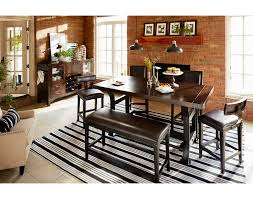 The Newcastle Counter Height Collection Mahogany