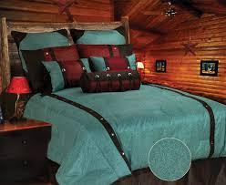 singleimage1 turquoise cheyenne bedding