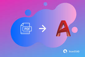 Learn how to draw dotted line in autocad from last version. How To Convert Pdf To Dwg In Autocad 2019 Above Scan2cad
