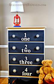 Serendipity Refined Blog: Chalk Painted Child Dresser \u0026 Painted ...
