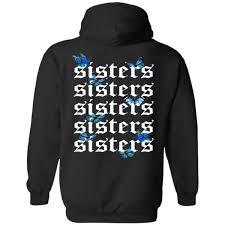 James charles merch printed tops womens casual hoodie sweatshirt hooded pullover. James Charles Merch James Charles Butterfly Merch Butterfly Collection Sisters Butterfly Hoodie Tiotee