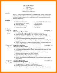 Technical Support Resume Cover Page For Resume Sample