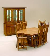Amish Furniture hand crafted solid wood dining sets Amish Traditions