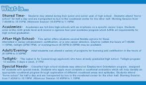 Ocvts Org Programs