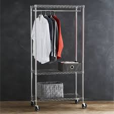 Metal Coat Rack With Shelf Amazon Com Homdox 100 Shelves Wire Shelving Clothing Rolling Rack With 92
